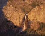 Sunset, Bridalveil Falls