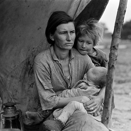 photo by Dorothea Lange
