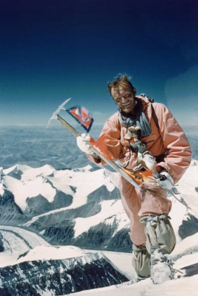 The first 10 climbers to summit Mt Everest