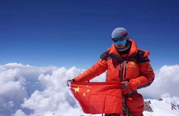 Luo Jing becomes first Chinese female mountaineer to conquer 14 eight-thousanders
