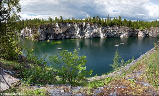 Karelia Republic, Russia nature view