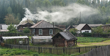 Sayan Ring, Ethno-tour. Village of Old Believers. Russia, Siberia