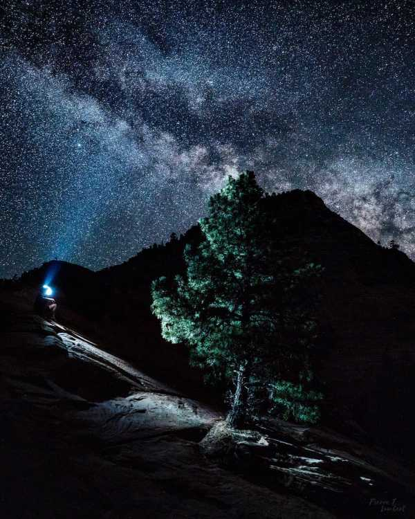 Как сфотографировать ночное небо на телефон